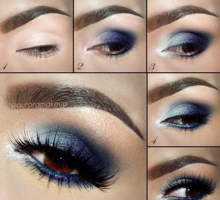 ... to mix and match with your dresses. Blue eye makeup is well – liked but it's not simple as the first step choosing the blue tone may challenge you.
